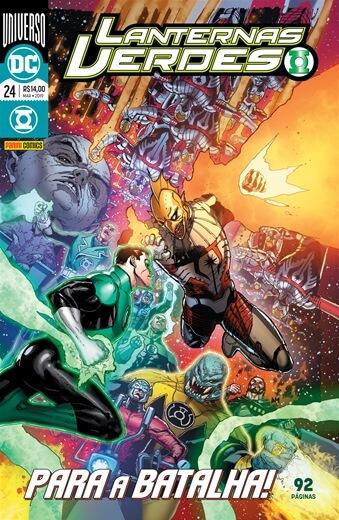 Lanternas Verdes: Renascimento - Edição 24: Para a batalha!