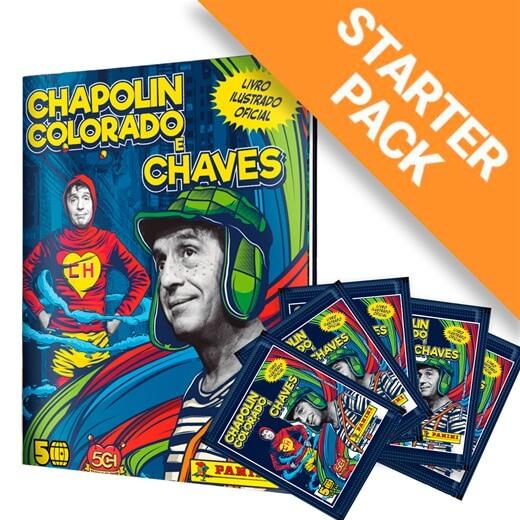 Chapolin Colorado e Chaves Livro Capa Dura + 12 Envelopes
