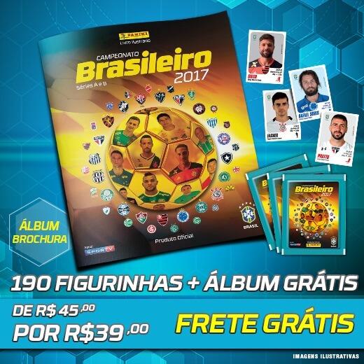 Panini Campeonato Brasileiro: [PANINI] Álbum Campeonato Brasileiro 2017 R$00,00 (Grátis