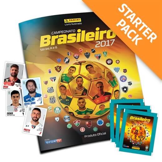 Panini Campeonato Brasileiro: Álbum Campeonato Brasileiro 2017